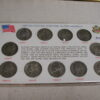 U.S Wartime Silver Nickel collection set of 11 1942 - 1945 PDS