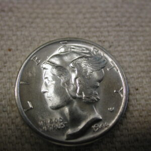 1944-D  FSB Mercury Dime Gem Choice Uncirculated