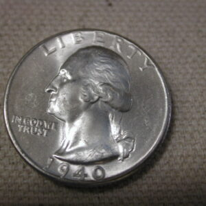 1940 U.S Washington Quarter Choice Uncirculated Blazing
