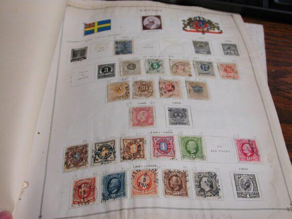 Sweden Lot Stamps