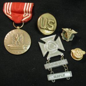 U.S. Military lot of 5  Honor Fidelity - Army Sharpshooter