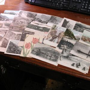 Early 1900's Swiss Post Cards, all Undivided Backs, Couple are used, Color & Black & White