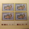 U.S. Duck Stamps Plate Block $7.50 Wigeon 50th Anniversary 1934-1984 /US Department of The Interior