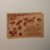 U.S. Stamp Scott #RW9 US Department of Agriculture $1 Migratory Bird Hunting Stamp No Gum