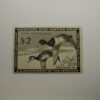U.S. Stamp Scott #RW21 US Department of Interior $2 Migratory Bird Hunting Stamp Ring-Necked Duck, Small Thin