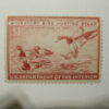 US Department of Interior Scott #RW13 $1 Redhead Ducks 1946, MNH