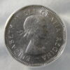 1962 Doubled Date 5 Cent Canada ANACS Certified AU 58
