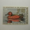 US Department of Interior Scott #RW52 $7.50 Cinnamon Tail Duck Stamp, MNH