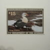 US Department of Interior Scott #RW58* $15 King Eiders Duck Stamp 1991, MNH