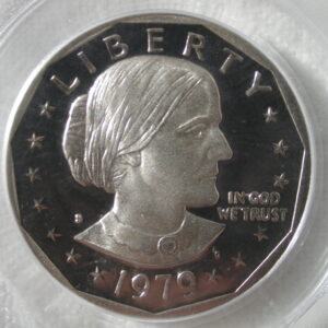 1979-S Susan B. Anthony Dollar PCGS PR 69 DCAM Type 1