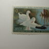 US Department of Interior Scott #RW37* $3 Ross' Geese Stamp 1970, MNH