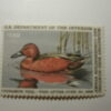 US Department of Interior Scott #RW52 $7.50 Cinnamon Teal Duck Stamp 1985, MNH