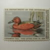 US Department of Interior Scott #RW52* $7.50 Cinnamon Teal Duck Stamp 1985, MNH