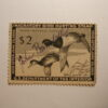 US Department of Interior Scott #RW21 $2 Ring-Necked Ducks Stamp 1954, Used & Signed