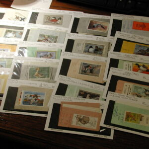 U.S. Hunting Licenses with Duck Stamps lot of 20 Used
