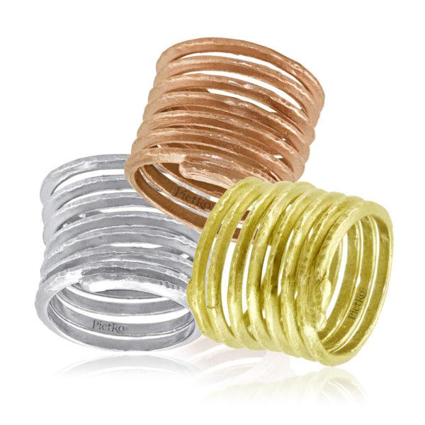 Pietro Infinity Ring