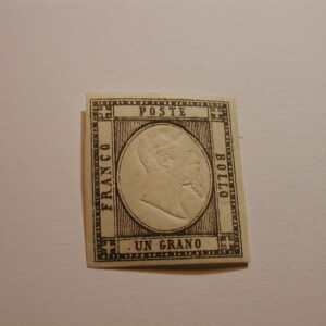 Italy 1861 Scott #21 Neapolitan Provinces embossed Mint NH OG
