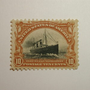 Scott #299 10 cent Pan-American Expo Issue – hinged Very Well Centered, Good...