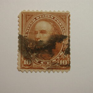 Scott#282C 10c Brown The Bureau of Engraving, Series of 1897-1903 cancelled