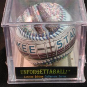 Sealed Yankees Unforgettaball Yankee Stadium Collectable hand designed baseball