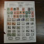 South Africa Mounted Stamp Collection - approx 200 Stamps - dated 1872-1977