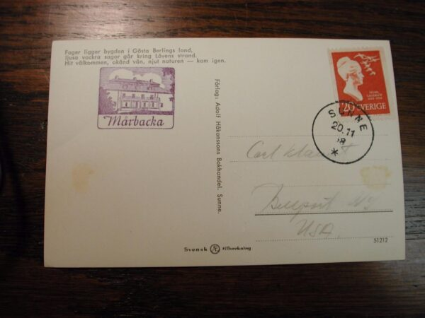 Sweden Covers & cards some 1st dated from 1950's marks on some envelopes