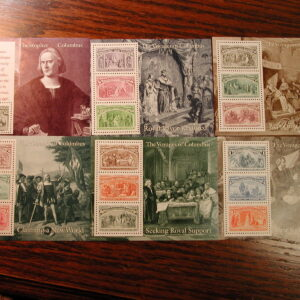 U.S., Italy, Portugal & Spain – Full Set each of the 500th Anniversary of Columbus