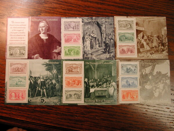 U.S., Italy, Portugal & Spain – Full Set of the 500th Anniversary of Columbus...