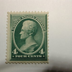 U.S. Scott #211 4¢ 1883 Washington, Fresh Color, No Gum