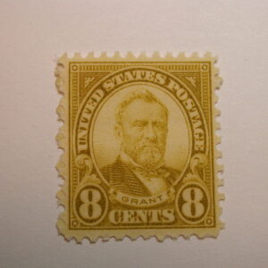 US Scott 560 Grant 8 Cent Stamp 1923 NH Perf 11
