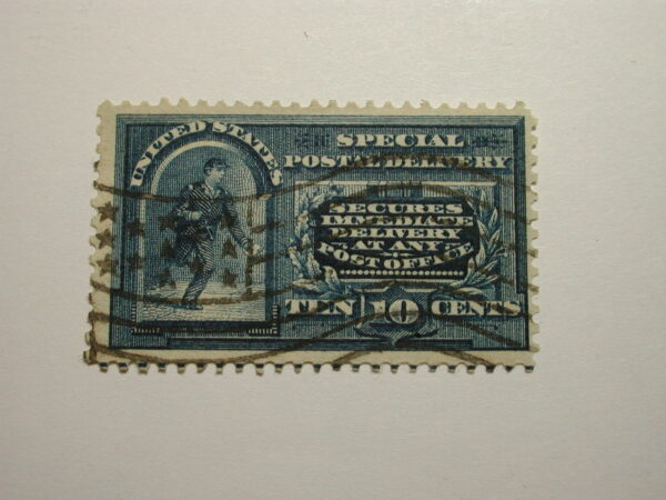 US Stamps Scott #E4 Special Postal Delivery Ten Cents, used