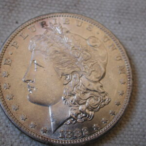 1882-S U.S Morgan Silver Dollar Gem Choice Uncirculated