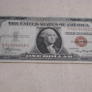 Hawaii Silver Certificate  $1 FR#2300 1935A Extra Fine condition