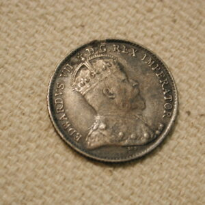1904 Canada 5 Cent  Extra Fine