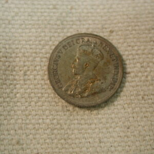 1920 Canada 5 Cent About Circulated KM #22