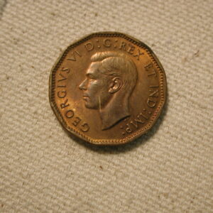 1943 Canada Five Cent Uncirculated #KM40