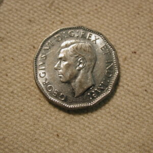 1945 Canada Five Cents Gem Uncirculated #KM40a