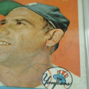 1958 Yogi Berra Signed #370 Certified PSA Good 2
