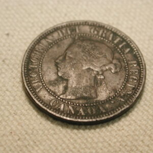 1888 Canada One Cent XF #KM7