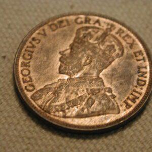 1815 Canada One Cent AU KM#21