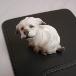 DAHL JENSEN COPENHAGEN Griffon Dog #11202