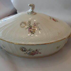 Royal Copenhagen Frijsenborg Floral Covered Serving Dish 910-1702