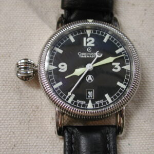 Chronoswiss Timemaster 40mm Automatic CH2833 deployment Left side crown