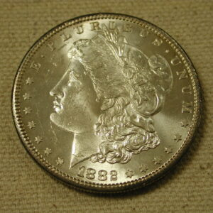 1882-S U.S. Morgan Silver Dollar *Gem/Choice Unc.*