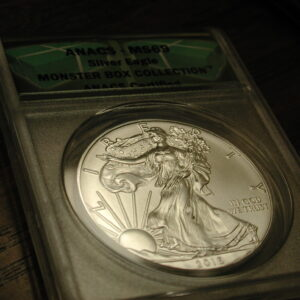2016 (S) MS69 Silver Eagle Monster Box Collection (ANACS Certified)