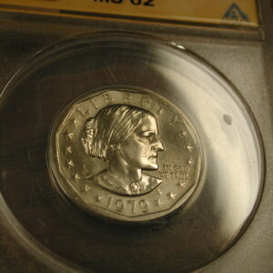 1979-P Susan B Anthony MS 62 (Wide Rim)