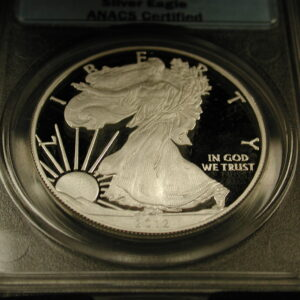 2012-W ANACS PR70 DCAM Silver Eagle ANACS Certified (WithBox)