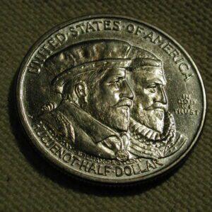 1924 U.S. Commemorative Half-Dollar (Huguenot) *AU/UNC*