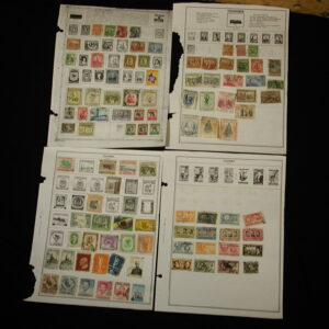 Columbia Mounted Stamp Collection - approx 125+ Stamps - dated 1946-1973