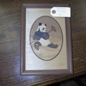 PANDA by Jeff Nelson Hudson River Inlay artist